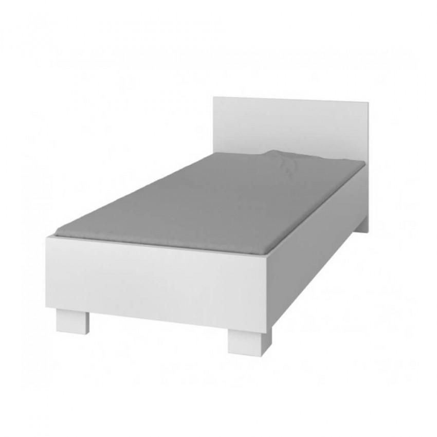 Jak Młodzieżową Białe Cm łóżko Jednoosobowe Sypialnie 90x200