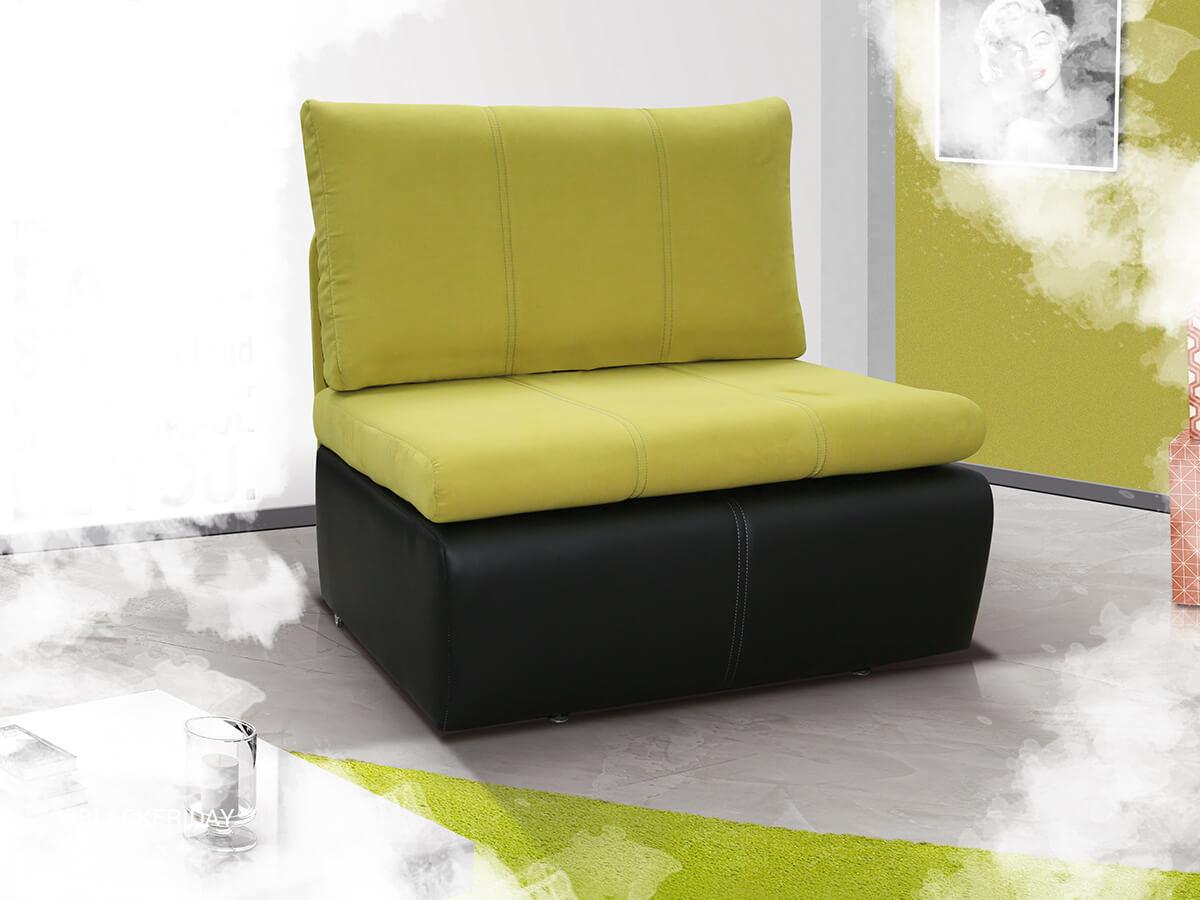 Jednoosobowy rokzładany fotel Rito